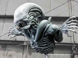 "pierre rouzier_""alien"" sculpture"