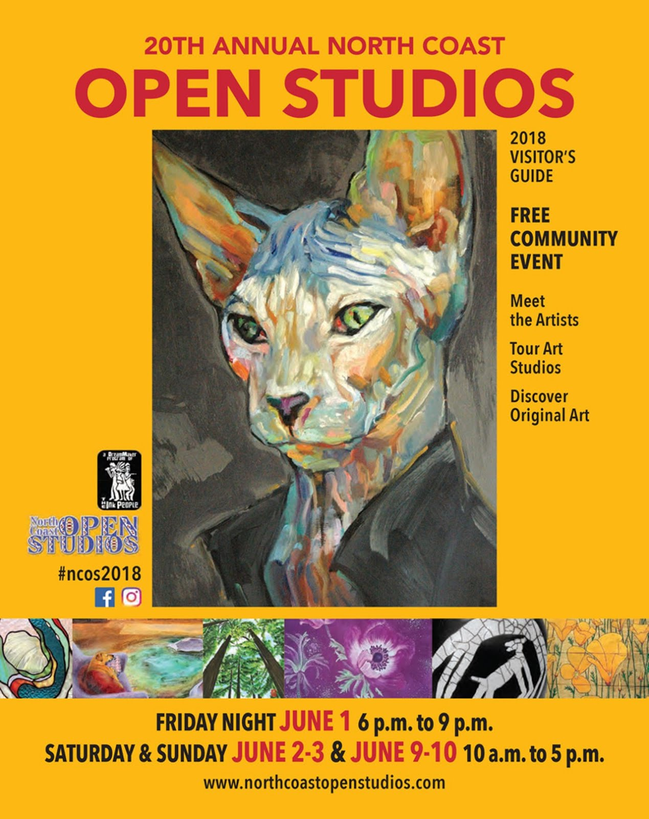 North Coast Open Studios! June 2nd