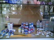 Materiais para pintura