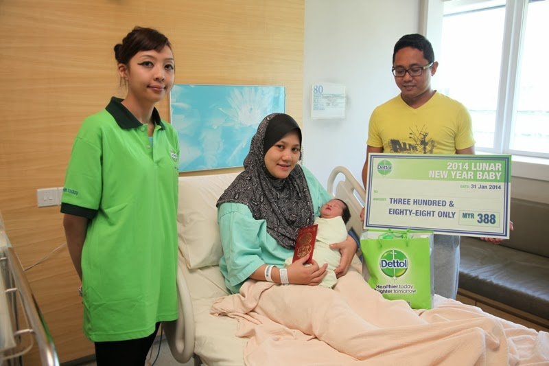 First Horse Baby Rewards From Dettol Malaysia, cash, hamper dettol, prize giving, dettol malaysia, Dettol New Moms Sampling Program, baby hygiene, family, horse baby, mother & baby, hospital