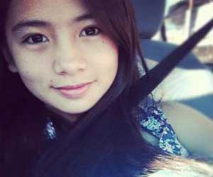Teen actress Ella Cruz who played the young Jasmin in the drama series