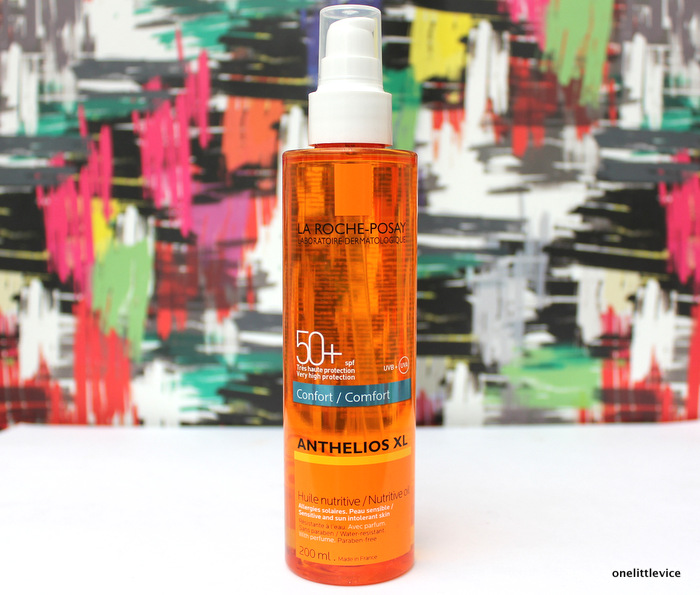 One Little Vice Beauty Blog: La Roche Posay SPF Oil