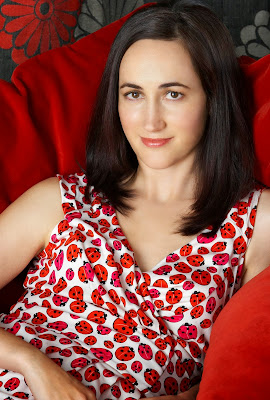 Sophie Kinsella writer of Confessions of a Shopaholic book series.