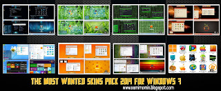 The Most Wanted Skins Pack 2014 For Windows 7