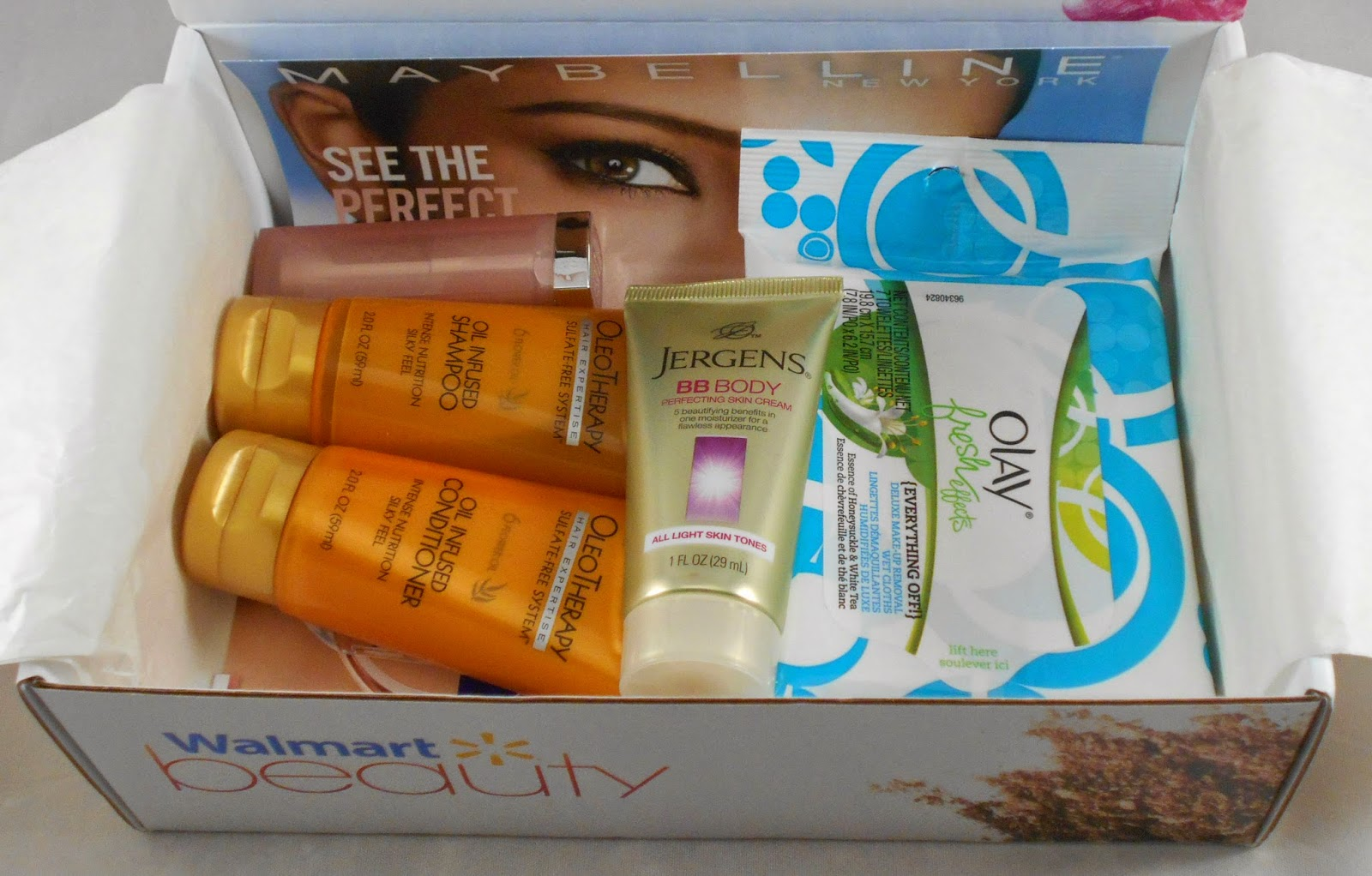 Walmart Beauty Box! ( Winter 2014!)