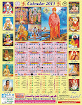 NEW - Vedic/Hindu Calendar for 2013