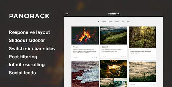 Panorack - Responsive Grid Theme