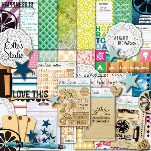 Materiales Scrapbooking Layout