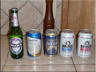 a few non alcoholic beers