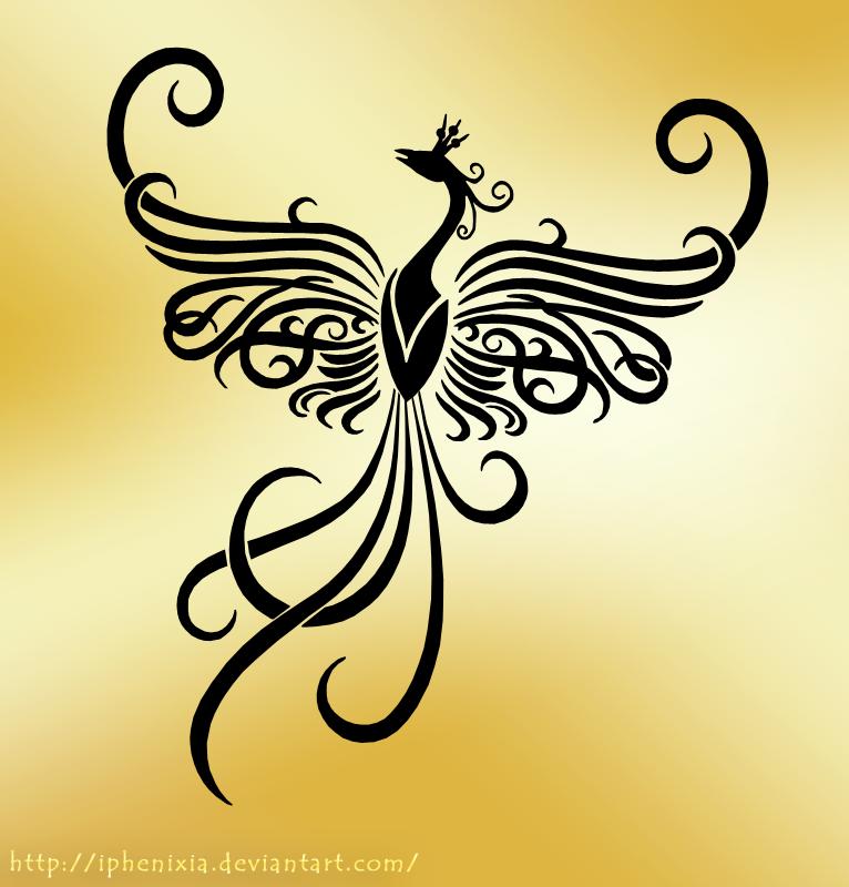 Tattoo f nix fenix tribal for Fenix tribal tattoo