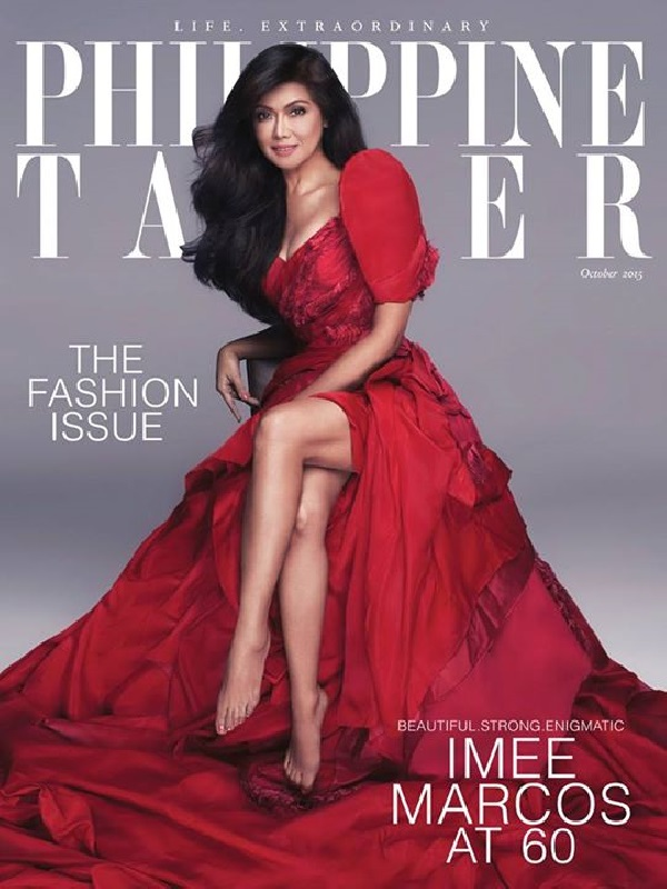 Imee Marcos on Philippine Tatler cover
