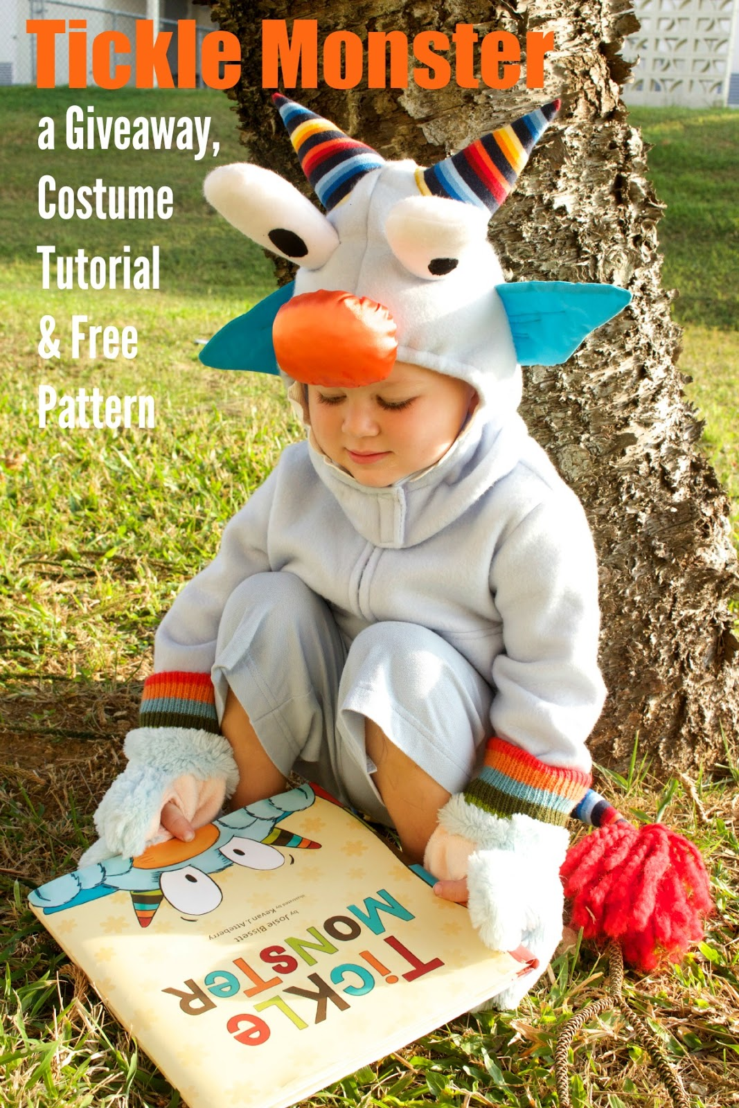 Tickle Monster - a GIVEAWAY Costume Tutorial u0026 Free Pattern  sc 1 st  xoxo Grandma : halloween costume giveaway  - Germanpascual.Com