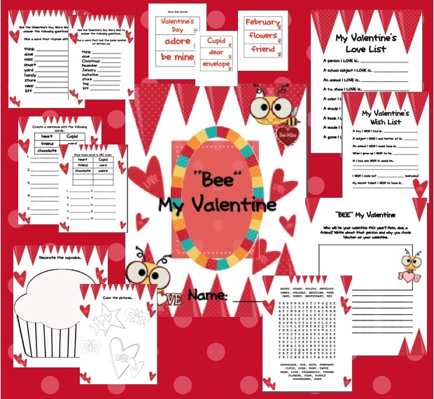 Valentines Day Package Freebie  Today in Second Grade