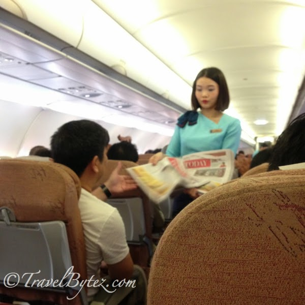 Silkair: From Singapore to Danang Economy Style and Back