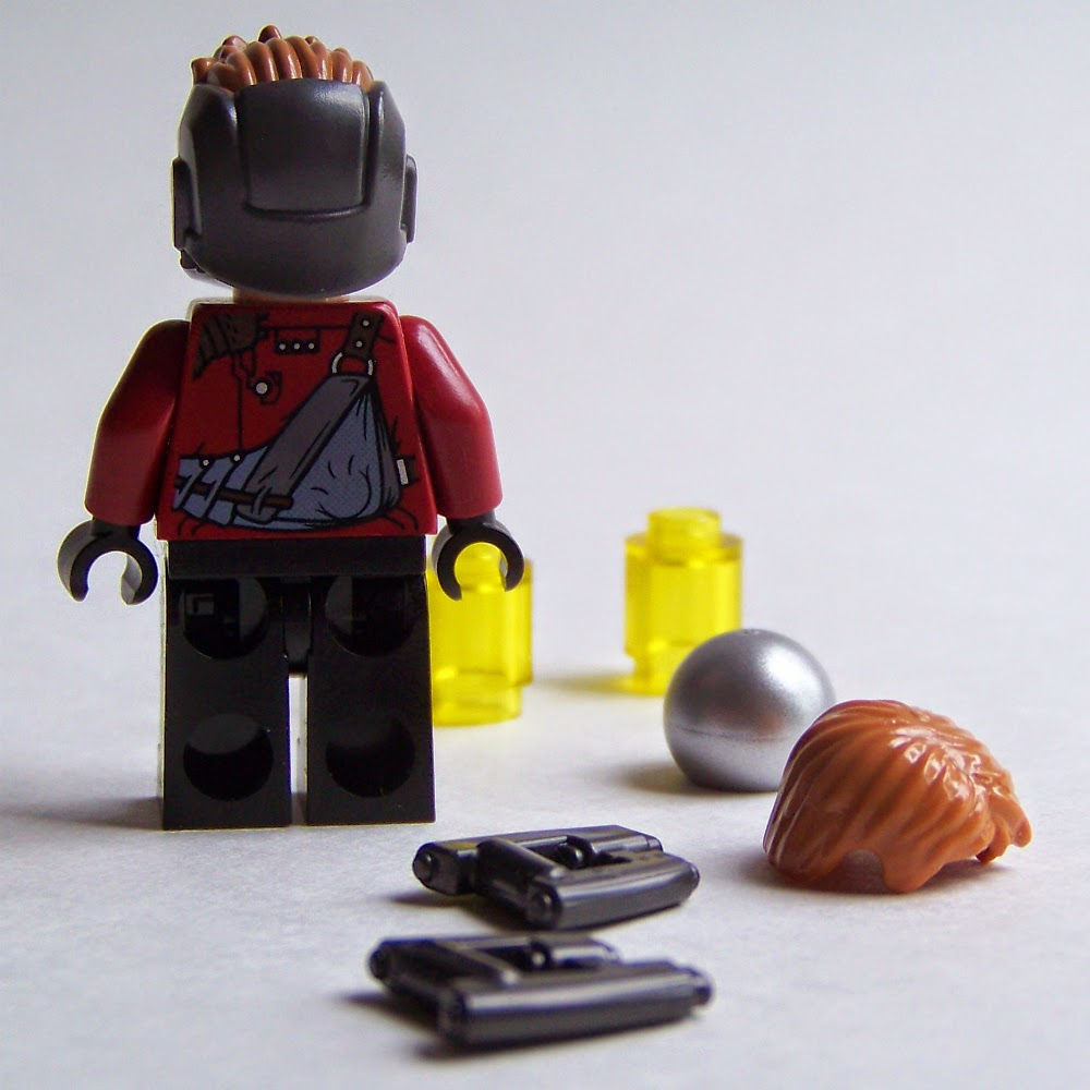 LEGO Star Lord minifigure 76019
