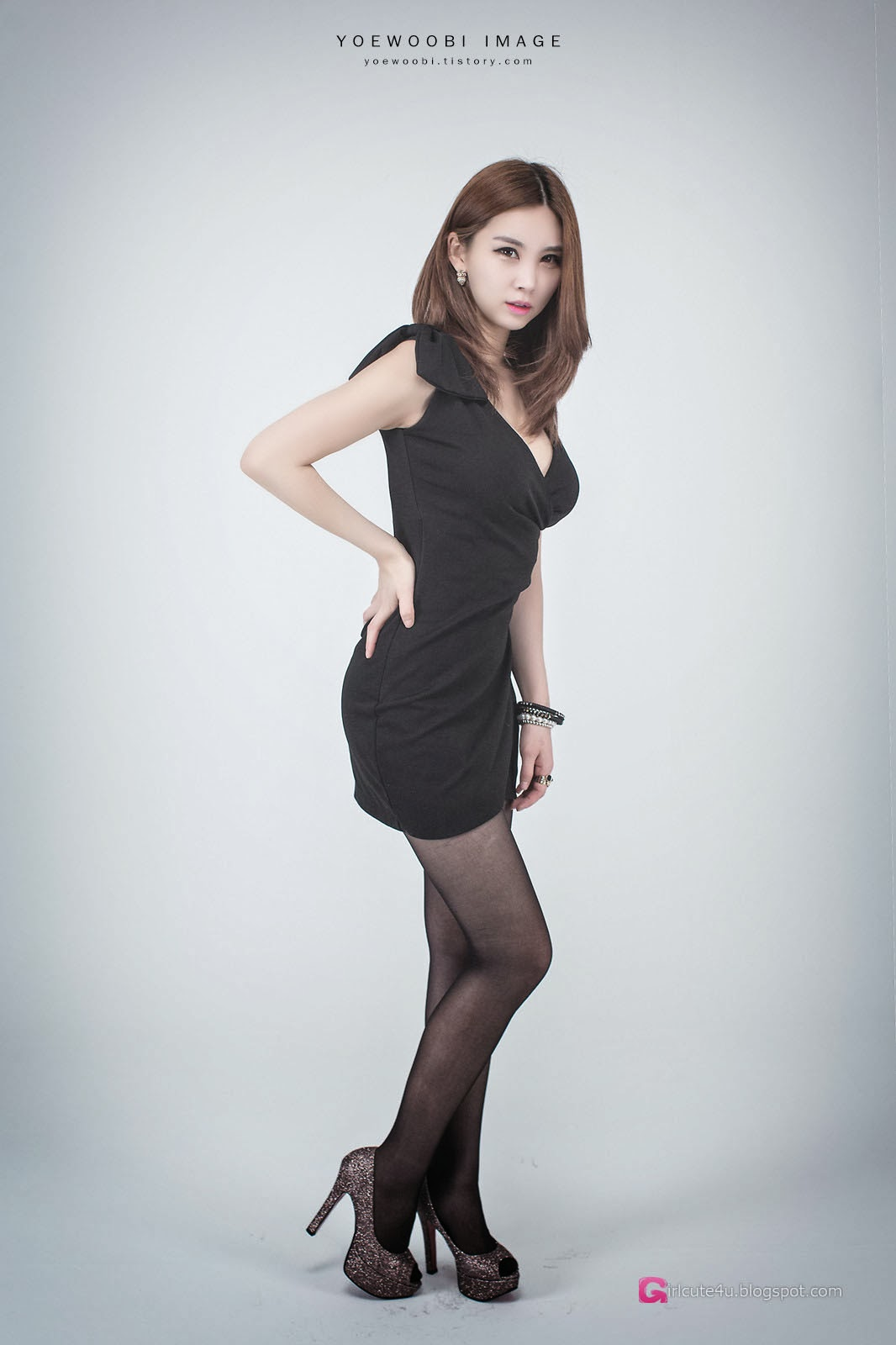 Lee Eun Yu - Little Black Dress ~ Cute Girl - Asian Girl