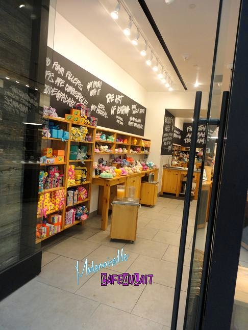 Mllecafeaulait s babbling discovering lush cosmetics