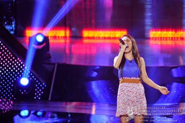 Mecerdita Quiachon sings 'Listen' on 'The Voice PH'
