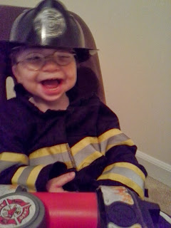super cute fireman costume