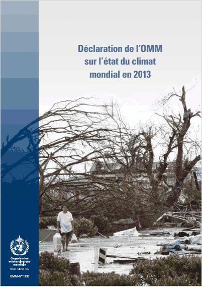 OMM: rapport sur le climat mondial en 2013
