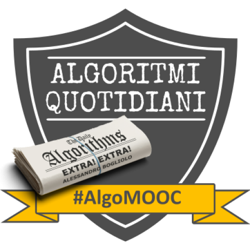 Badge AlgoMooc