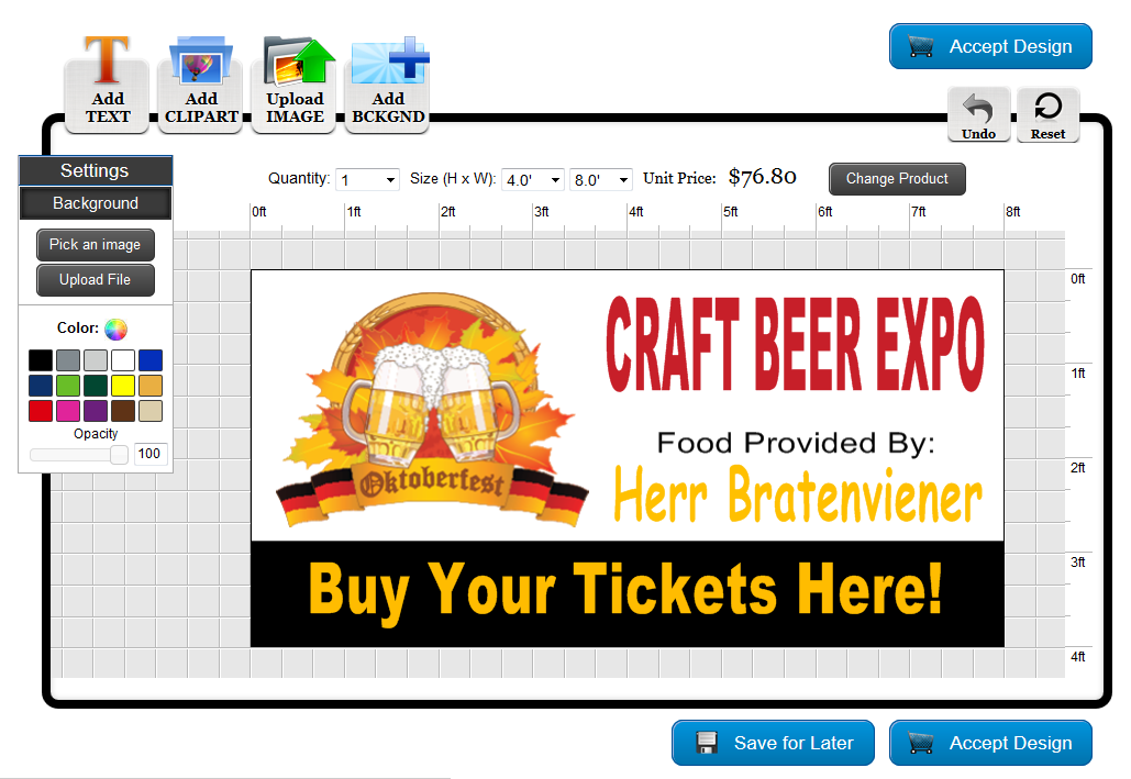 Design Custom Oktoberfest Banners at Banners.com