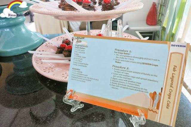 Layered Crepe Cake recipe