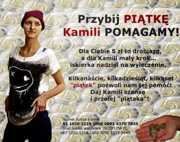 Pomagamy Kamilii