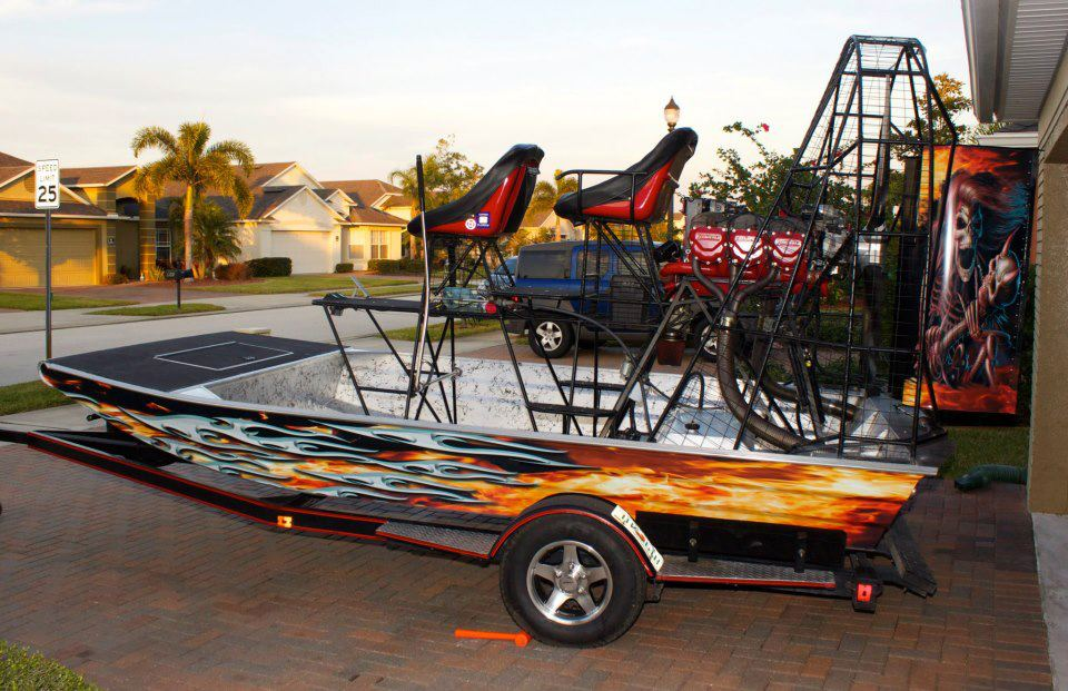 sexy airboat