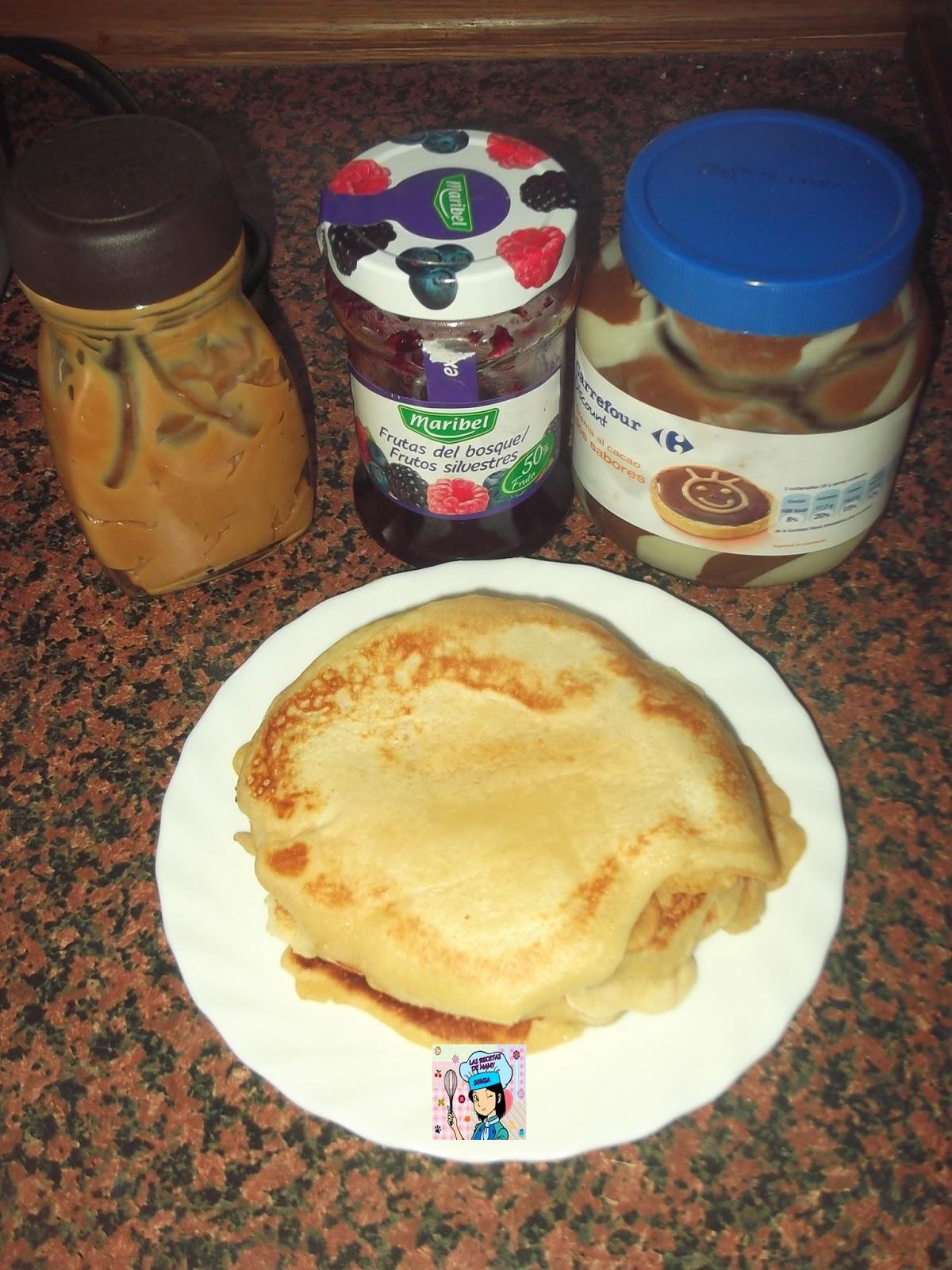 Las recetas de mamy sonia las tortitas esponjosas de mi - Pinche de cocina ...