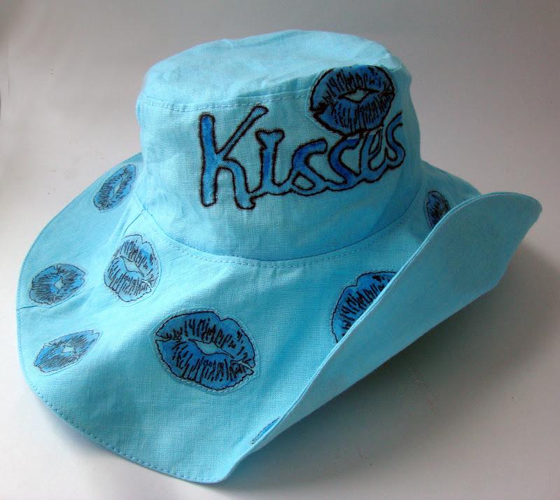 Как сшить шляпу из льна 25
