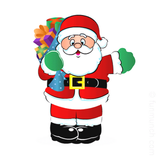 Santa Claus clip art pictures and background wallpapers,photos,images