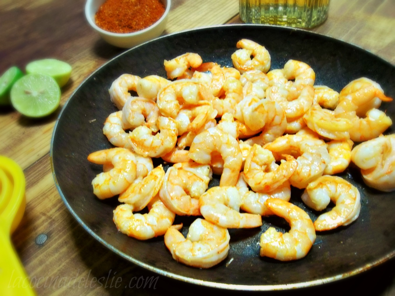 Spicy Tequila Shrimp Recipe — Dishmaps