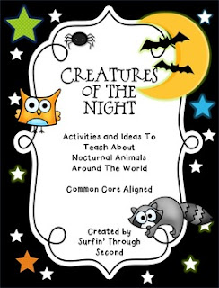 https://www.teacherspayteachers.com/Product/Creatures-Of-The-Night-All-About-Nocturnal-Animals-376364
