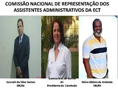 COMISSÃO NACIONAL DE REPRESENTAÇÃO DOS ASSISTENTES ADMINISTRATIVOS DA ECT
