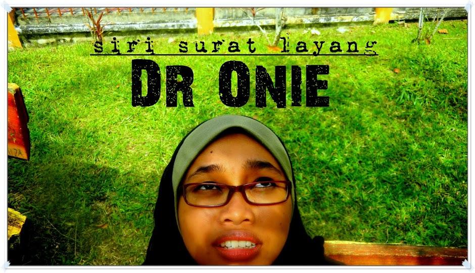 siri surat layang Dr Onie