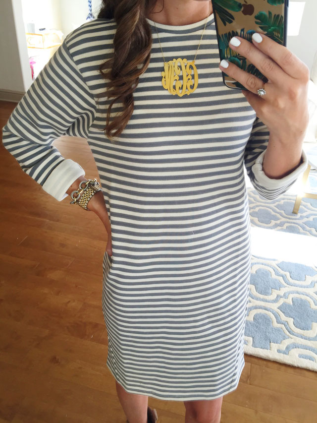 Nordstrom Anniversary Sale striped dress
