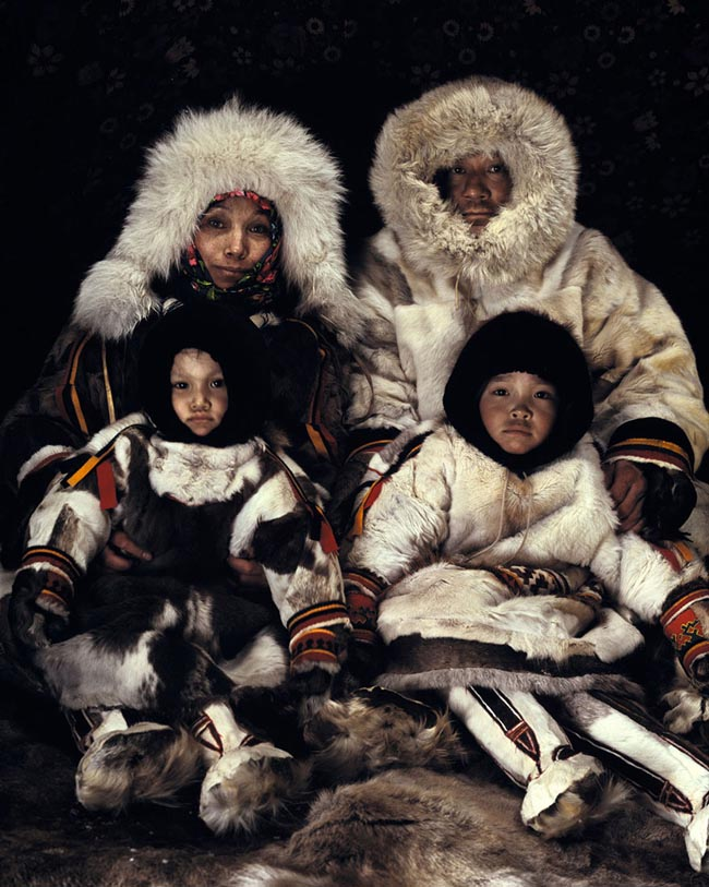 46 Must See Stunning Portraits Of The World's Remotest Tribes Before They Pass Away - Nenets, Russia