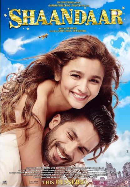 Poster Of Shaandaar 2015 1CD DVDScr Hindi