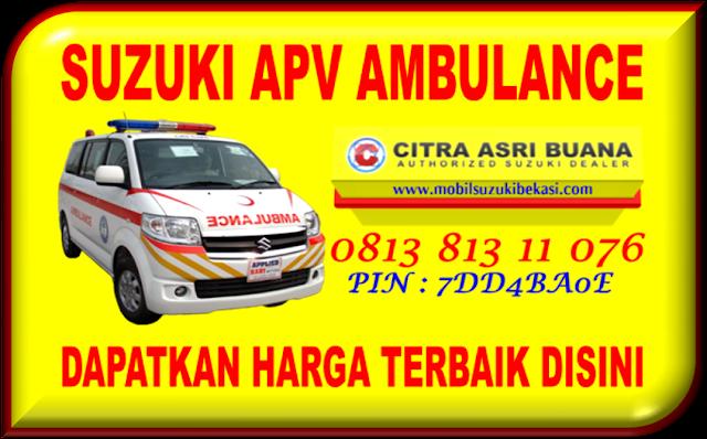 Mobil Suzuki APV Ambulance