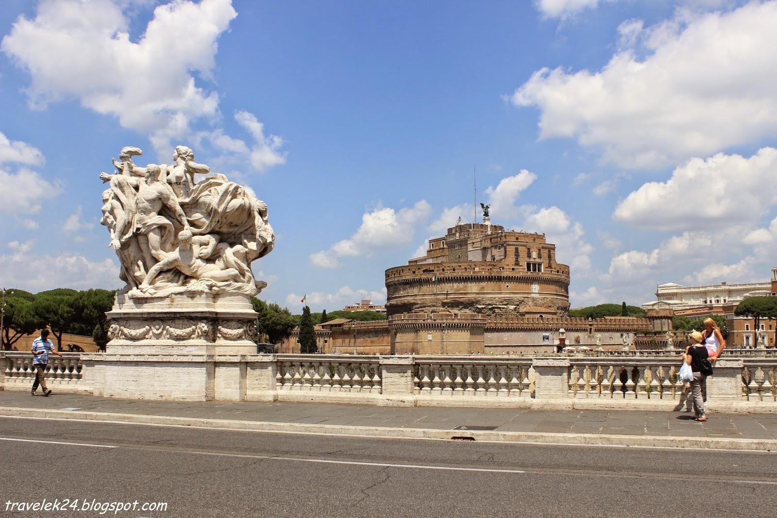 Castle Sant'Angelo, Rzym