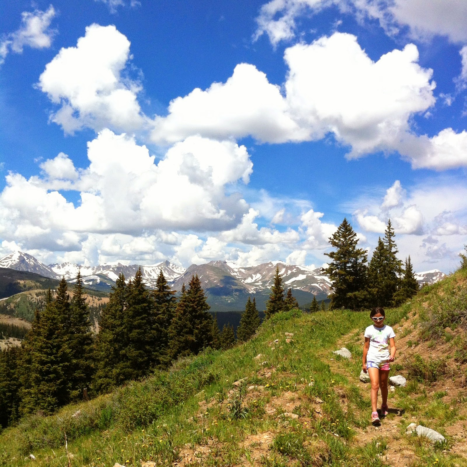Hiking in Breckenridge; Black Powder Pass