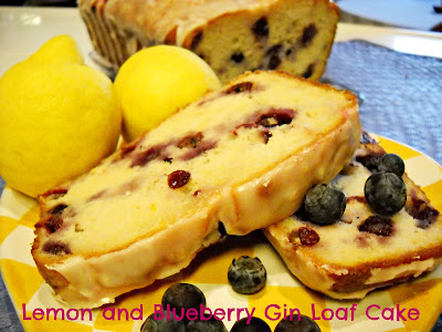 Recipe: Lemon and blueberry gin loaf cake