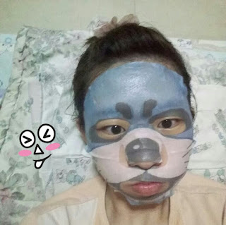SNP animal otter aqua mask sheet review