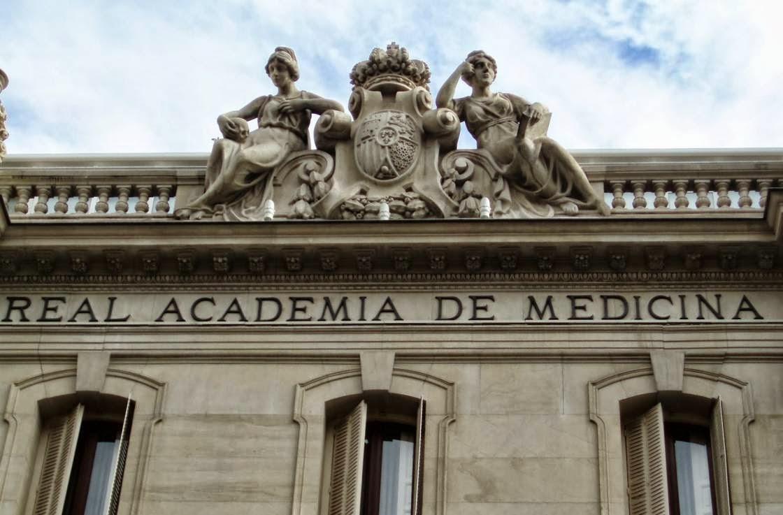 Fachada de la Real Academia de Medicina