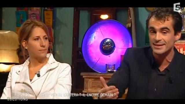 Maud Fontenoy avec Raphaël Enthoven