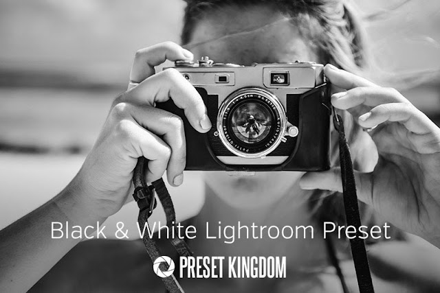 High Contrast Black & White Lightroom Preset