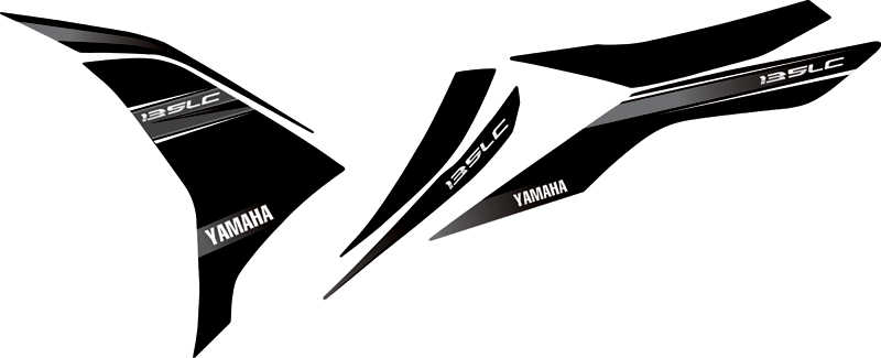 Striping design untuk Yamaha Jupiter MX New LC135 title=