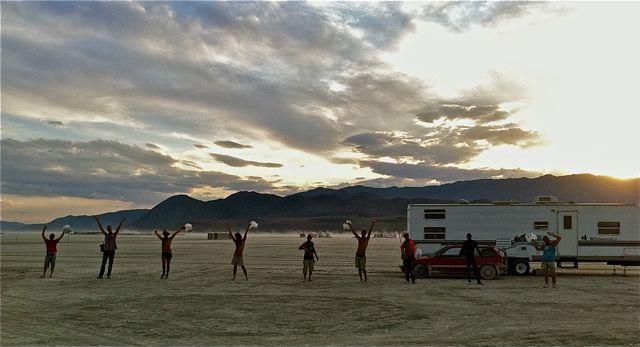 Paul Festa's Archive Fever: Burning Man Photo Essay, Part 4: MOOP Squad