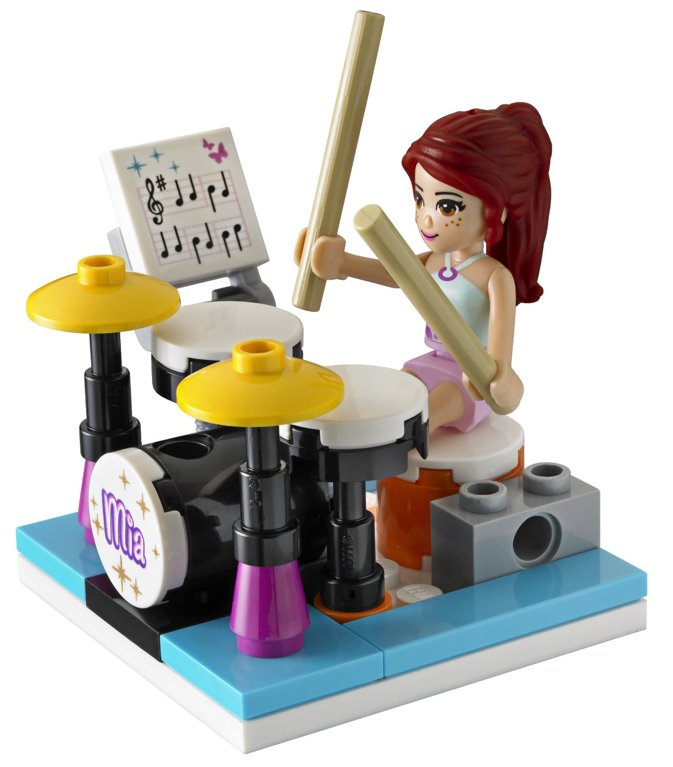 My lego style lego friends mia 39 s bedroom 3939 for Chambre lego